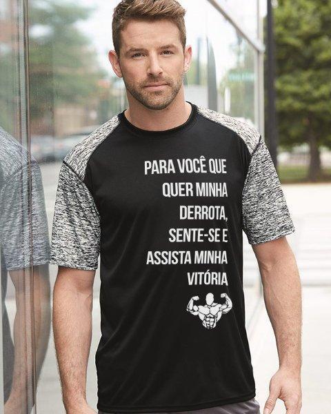 Camiseta personalizada na hora