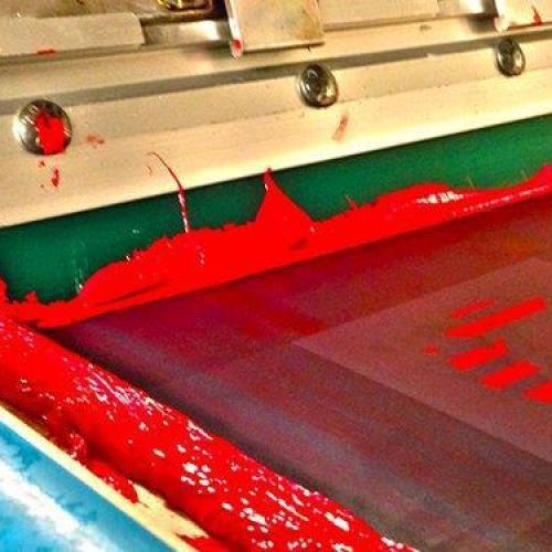 Gravação de tela silk screen
