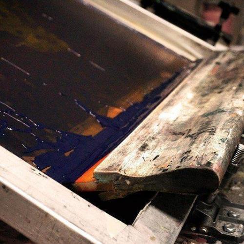 Revelação de telas silk screen